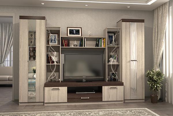 Современные стенки отличаются функциональностью и отличным внешним видом