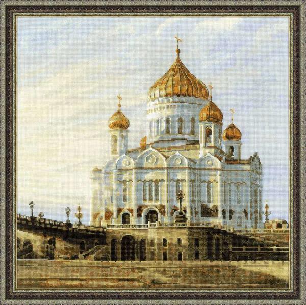 Основное назначение вышитого храма - это приносить эстетическое удовольствие