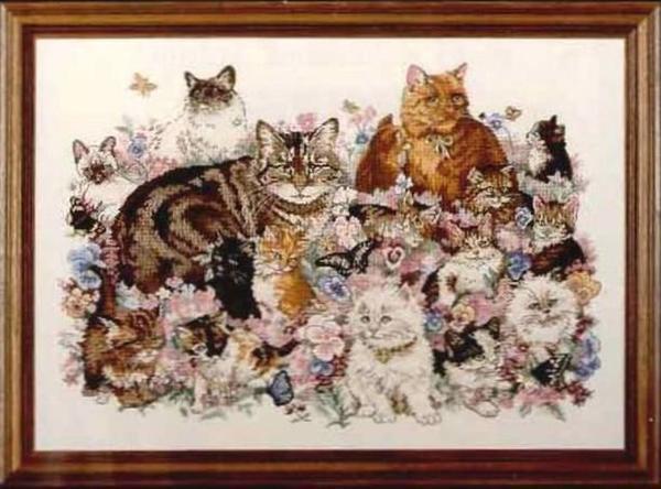 На сегодняшний день существует огромное количество различных наборов для вышивания с милейшими котятами