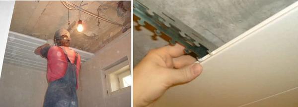 Перед тем, как приступить к установке реечного потолка, проверьте: весь ли вы необходимый инструмент и материал подготовили