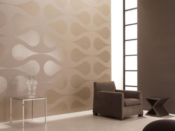 Благодаря простоте нанесения и отличным эксплуатационным характеристикам флизелиновые обои пользуются большой популярностью при отделке залов