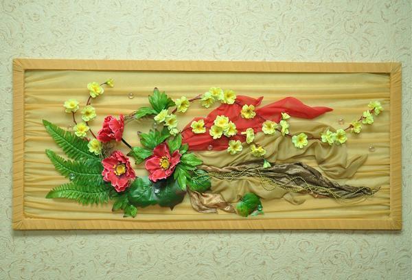 Изготовление панно можно заказать у опытной мастерицы или изготовить самостоятельно