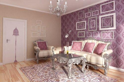 Обои для зала следует выбирать особенно тщательно, ведь в каждом доме это помещение является главным