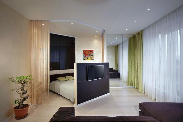 Стиль минимализм предполагает максимальную функциональность при минимальном наборе предметов мебели и аксессуаров