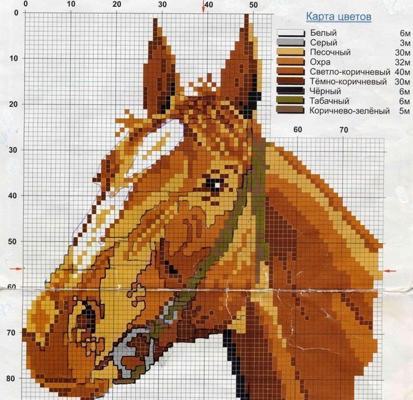 Вышитые лошади - это прекрасное дополнение к вашему интерьеру