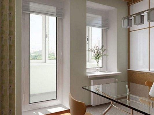 Устранить мелкие дефекты на пластиковых дверях балкона вполне можно своими руками, не прибегая к помощи специалистов