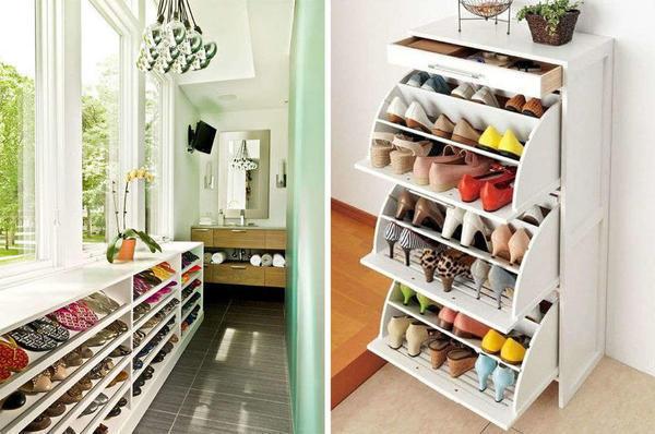 Изготовить красивую и функциональную подставку под обувь можно и самостоятельно, главное – заранее продумать дизайн подставки и подготовить необходимые материалы для работы
