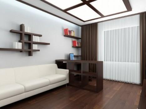 К ремонту в гостиной необходимо подходить тщательно, заранее продумывая каждый шаг