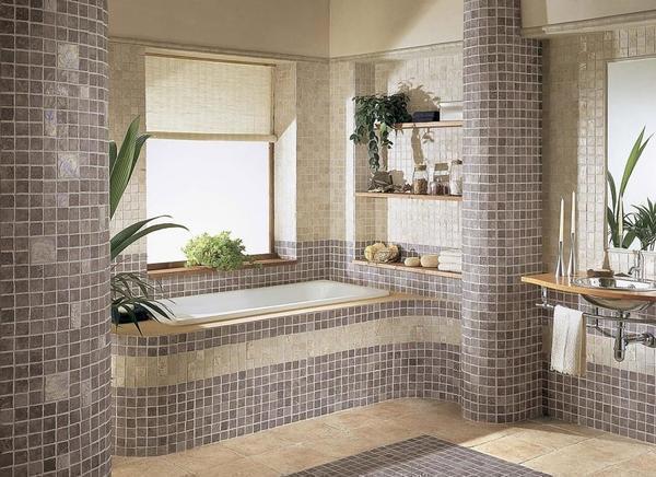 Наиболее популярным декоративным украшением, которое способно стильно украсить гипсокартонный короб, является красивая плитка